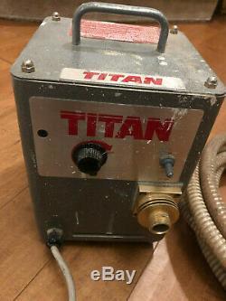 Titan Pro Finish 300 Hvlp Pulvérisateur De Peinture (aucun Pistolet)