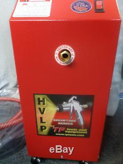 Unité De Turbine Showtime 90 Hvlp De Tp Tools Avec Pistolet De Pulvérisation Au Fini Proline + Pistolet Supplémentaire