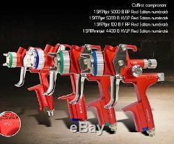 Valise 4 Pistolets SATA 5000 Bpr Et Hvlp / 4400 B Hvlp / 100 B F Rp
