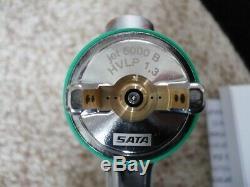 Véritable SATA Jet 5000 B Hvlp Sixties Gun 1.3 Avec Gobelet Réutilisable Satajet, Non Numérique