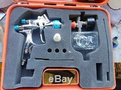 Walcom Spay Gun Walmec Top Line Genesi S Geo Hvlp 1.3mm! - (demo Canada)